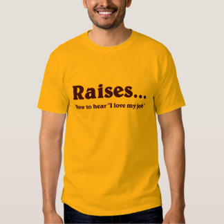Time For a Raise T Shirt