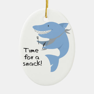 Time For A Snack! Ceramic Ornament