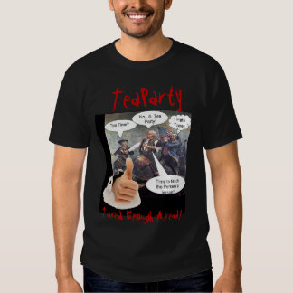 Time for a Tea Party America Shirts