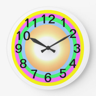 Time for Change! Large Round Wall Clock