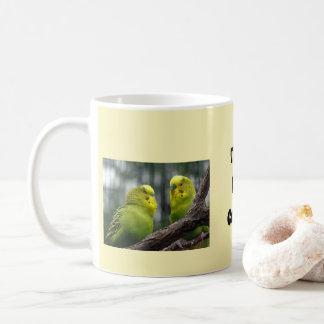 Time for Coffee Parakeets Coffee Mug