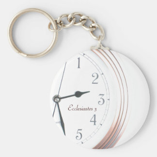 Time for Everything Keychain