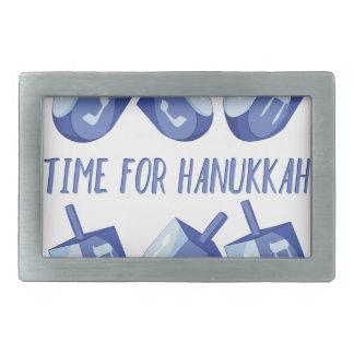 Time For Hanukkah Belt Buckles