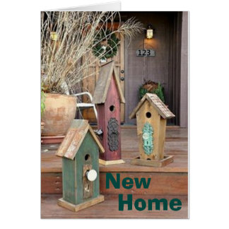 TIME FOR NEW MEMORIES/NEW FRIEND-NEW HOME CONGRATS GREETING CARD