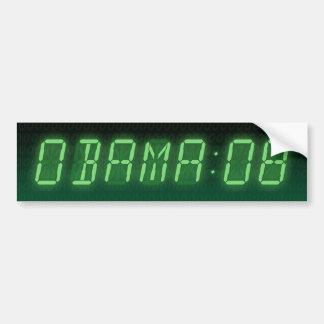 time for obama : 08 : bumper sticker