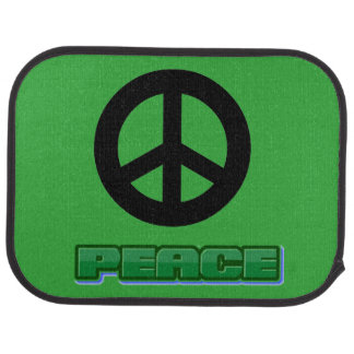 Time For Peace Car Mat