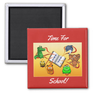 Time For School Magnet