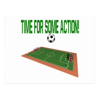 Time For Some Action Postcard