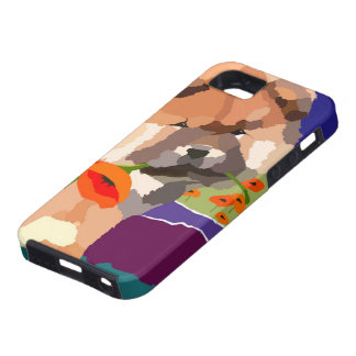 TIME FOR SPRING heARTdeco Chow iPhone 5 Case