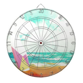 Time for surfing! dartboard