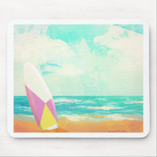 Time for surfing! mouse pad