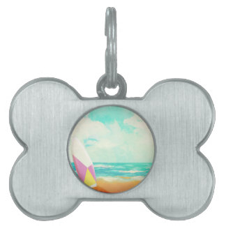 Time for surfing! pet ID tags