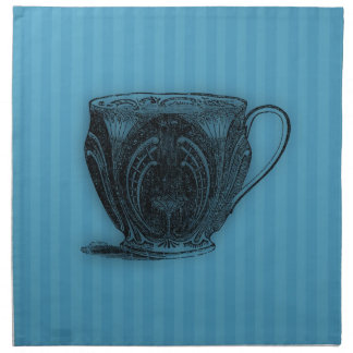 Time for Tea #3 Teacup Cloth Napkins