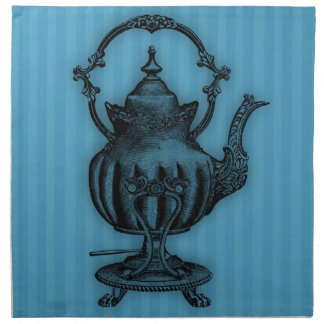 Time for Tea #3 Teapot Cloth Napkins