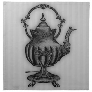 Time for Tea #5 Teapot Cloth Napkin
