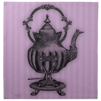 Time for Tea #6 Teapot Napkins