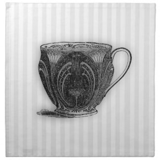 Time for Tea #8 Teacup Napkin