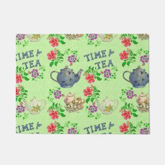 TIME for TEA Doormat