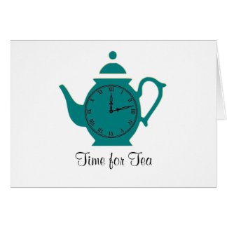 Time for Tea Notecard Note Card