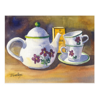 Time for Tea Postcard