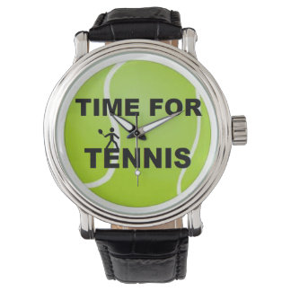 Time for Tennis Watch
