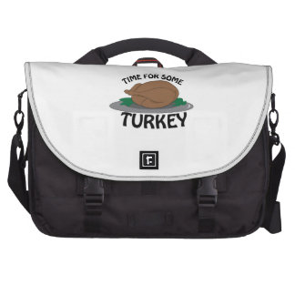 Time for Turkey Computer Bag