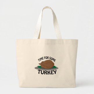 Time for Turkey Tote Bags