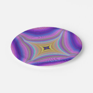 Time hole paper plate