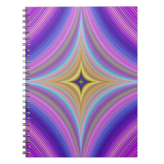 Time hole spiral notebook
