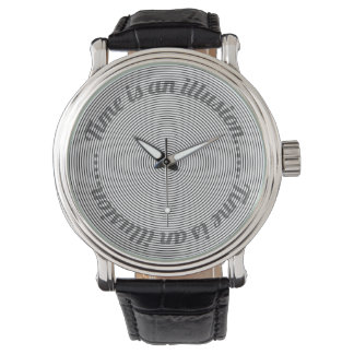 Time is an Illusion Wrist Watches