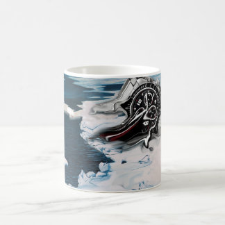 Time is going out mug
