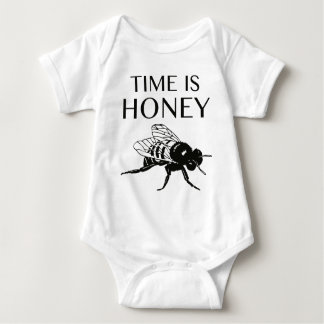 Time Is Honey Baby Bodysuit