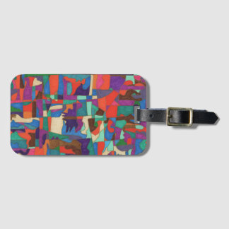 Time is Life Luggage Tag