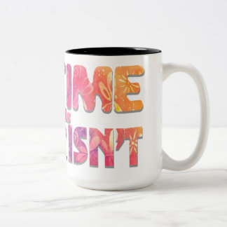Time is Now! New Age Original Art Two-Tone Coffee Mug