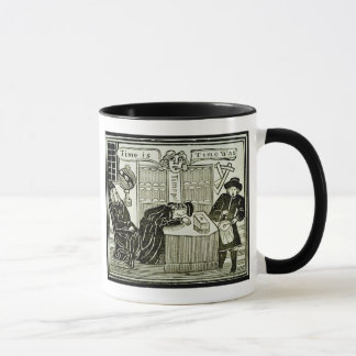 'Time Is, Time Was', copy of an illustration from Mug