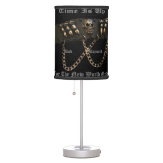 Time is Up For The New World Order- Fan Lamp