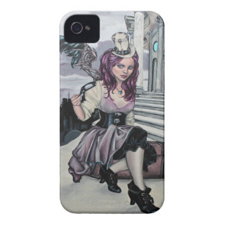 time keeps ticking steampunk faery blackberry iPhone 4 cover