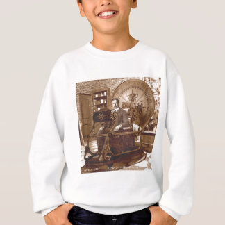 Time Machine - HG Wells Sweatshirt