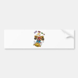 Time Machine Man Bumper Sticker