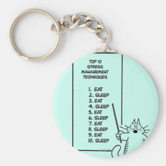Time Management Keychain