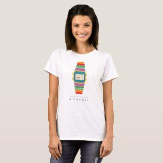 Time   Moments   Digital Watch Pop Art T-Shirt