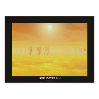 Time Moves On Poster