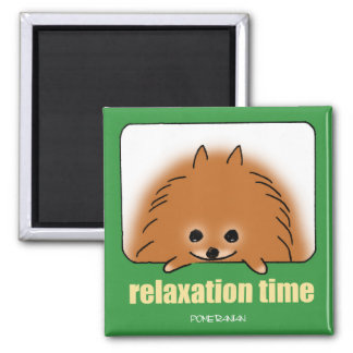 Time of relaxing magnet
