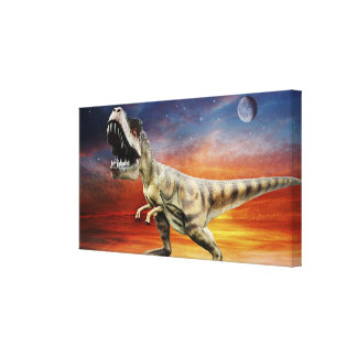 Time Of The Dinosaurs Canvas Print