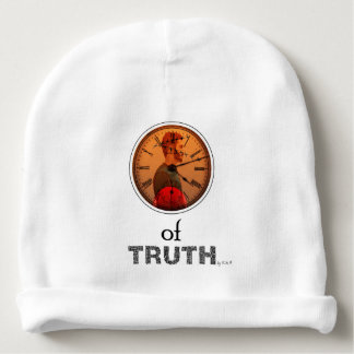 Time of truth baby beanie