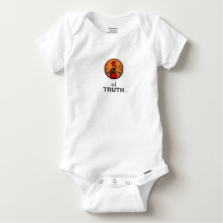 Time of truth baby onesie