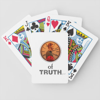 Time of truth bicycle playing cards