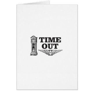 time out clock card