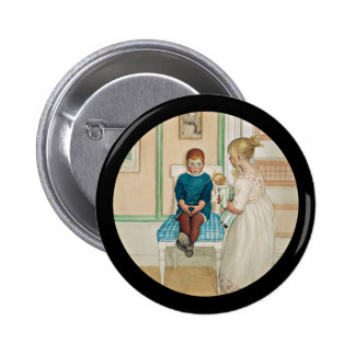 Time Out in the Corner 2 Inch Round Button