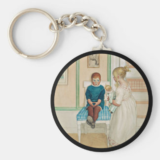 Time Out in the Corner Keychain